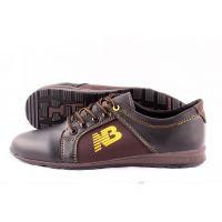 Ankor: Мужские осенние кроссовки T41 коричневый оптом