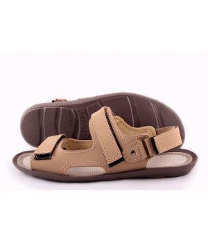 Ankor: Летние сандалии Л-3 бежевые оптом
