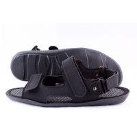 Ankor: Летние сандалии Л-3 черные оптом