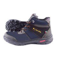 Ankor: Мужские зимние ботинки №20 синие