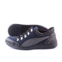 Ankor: Мужские осенние кроссовки Puma синие оптом