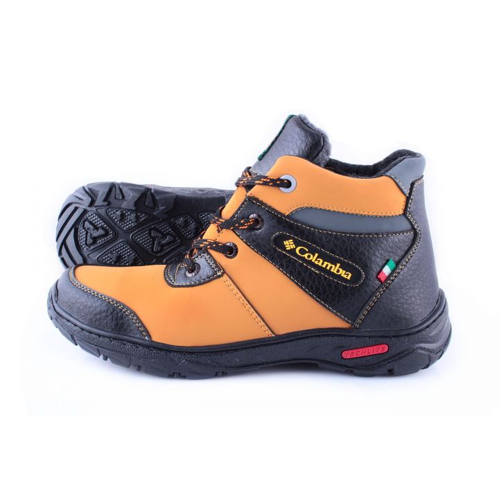 Ankor: Мужские зимние ботинки №20 оранж оптом
