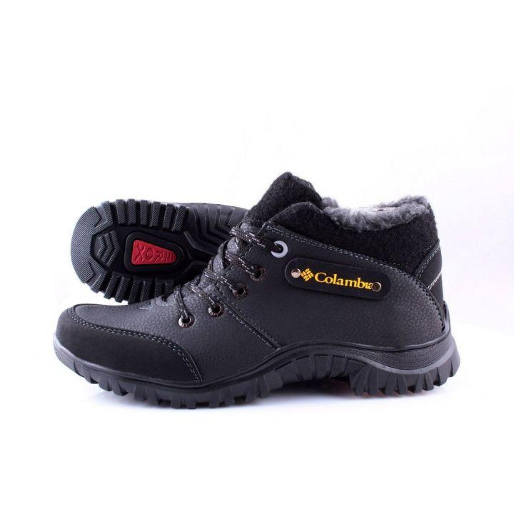 Ankor: Мужские зимние ботинки №8 чорные MK оптом
