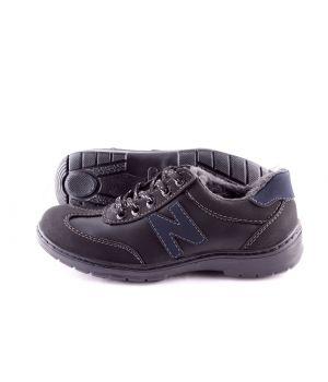 Koobeek: Зимние подростковые кроссовки №6 синие оптом