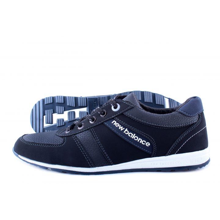 Ankor: Мужские осенние кроссовки T21 черные оптом