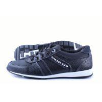 Ankor: Мужские осенние кроссовки T21 черные пупр
