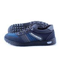 Ankor: Мужские летние кроссовки Т20 сетка синие Оптом