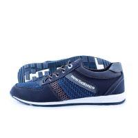 Ankor: Мужские летние кроссовки Т21 сетка синие Оптом