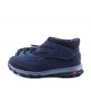 Koobeek: Зимние подростковые ботинки лепа синие оптом