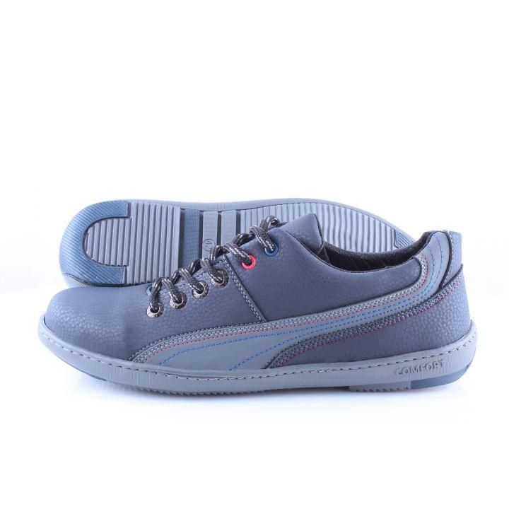 Ankor: Спортивные мужские кроссовки Т10 синие оптом
