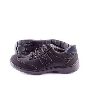 Koobeek: Зимние подростковые кроссовки №6 черные оптом
