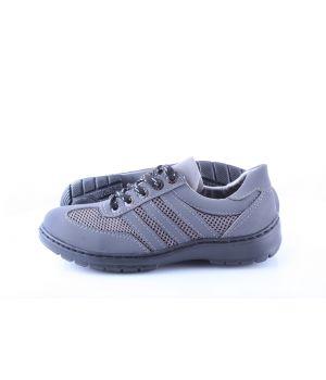 Koobeek: Подростковые кроссовки №3 сетка серая