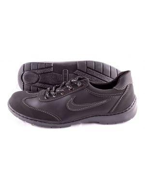 Koobeek:Мужские кроссовки №7 черные Оптом