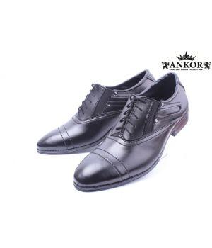 Ankor: Классические Мужские туфли 002 оптом