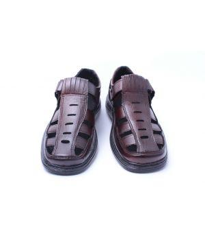 Ankor: Туфель летний 16 (коричневый) оптом