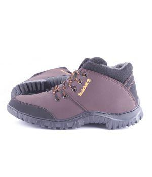 Ankor: Спортивные Мужские Ботинки №9 Timderland коричневые оптом