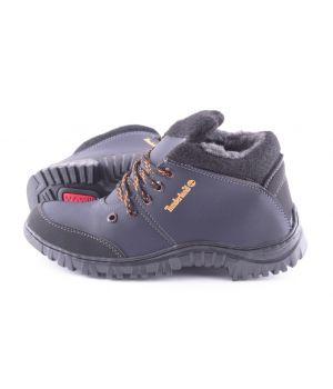 Ankor: Спортивные Мужские Ботинки №8 Timberland синие оптом