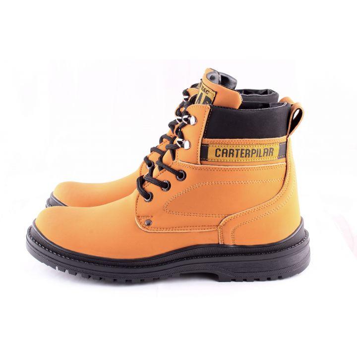 KooBeek:Мужские зимние ботинки №15 orange оптом