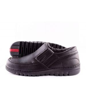 Ankor: Мужские туфли (Резинка №1) на меху оптом