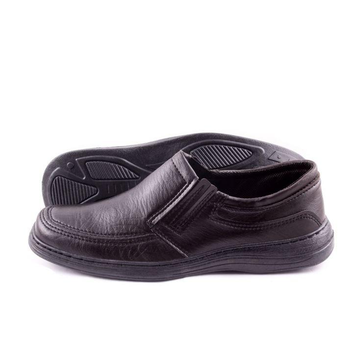 Ankor: Классические мужские туфли (Резинка №1) оптом